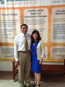 Dr. Dipnarine Maharaj MD Meets with Rep. Lori Berman of Boynton Beach, FL
