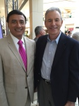 IMGDr. Dipnarine Maharaj with WPBF Weatherman Michael Lyons