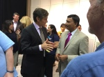 Dr. Oz and Dr. Dipnarine Maharaj
